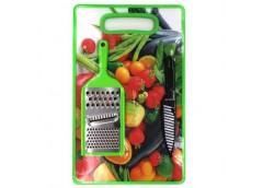Доска кухона + ножик + тертка 34468 OSM (30)
