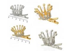 Корона принцеси на уточкі метал в асортим середня BBJ 033/034