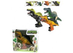 Динозавр в кор.3 вид. звук, світ 25*20*9см.  168-12B (24/48)