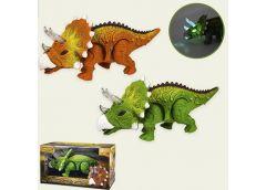 Динозавр в кор. 2 кол. звук, світ 27*12*15см. 1383 (24/48)