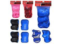Захист для колін, локтів, запясток, 4 кольори, в сеткі, 20-31см MS 0338