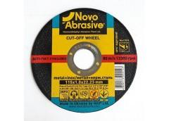 Круг обріз. NOVOABRASIVE  метал 115х1,0 мм.  WM 11510 (25)