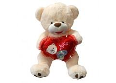 Ведмедик травка з серцем мармелад менш