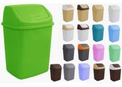 Відро для сміття 10л в асорт Алеана 122063