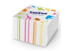 Салф. ZooZoo, білі, 100шт. 24*23см.  9293 (54)