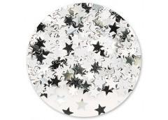 Конфеті зірки Срібні 14гр 1501-0196
