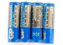 Бат. R6 сп. GP Powerplus Синя  (2/40/200/1000)