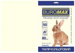 Папір офс А-4 50а/ 80г Pastel кремовий 2721250-49 BM BUROMAX