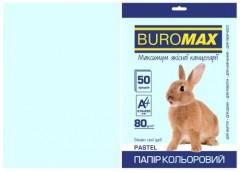 Папір офс А-4 50а/ 80г Pastel блакитний 2721250-14 BM BUROMAX