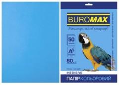 Папір офс А-4 50а/ 80г Intensiv св.синій  2721350-30 BM BUROMAX