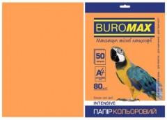 Папір офс А-4 50а/ 80г Intensiv помаранчевий  2721350-11 BM BUROMAX