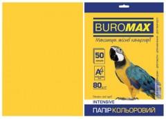 Папір офс А-4 50а/ 80г Intensiv жовтий  2721350-08 BM BUROMAX