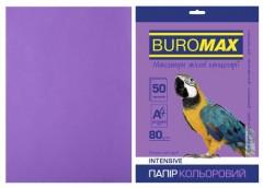 Папір офс А-4 50а/ 80г Intensiv фіолетовий  2721350-07 BM BUROMAX