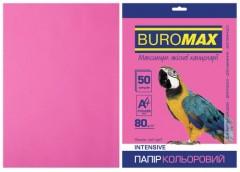 Папір офс А-4 50а/ 80г Intensiv малинова 2721350-29 BM BUROMAX