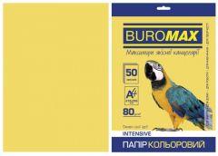 Папір офс А-4 50а/ 80г Intensiv золотий 2721350-23 BM BUROMAX