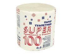 Туалетний папір SUPER 100 БарОС (8/48)