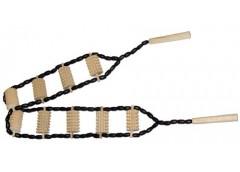 Масажор деревяний 2ручки 10валіків