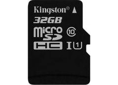 Карта пам'яті KINGSTON microSDHC 32Gb Canvas Select+ A1 (R100/W10) без адаптера