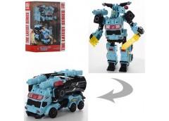 Трансформер,19см. робот+машина, в кор. 24*29*10см. JJ 605 (18)