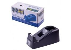 Диспенсер для стрічки клейкої  BUROMAX чорний до 18мм. BM 7451-01
