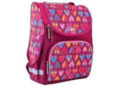 Рюкзак каркасний Smart PG-11 Hearts Style, 34*26*11см. 555920