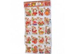 Листівка ЛИСТ для Діда Мороза 8*7см ціна за 1шт !!!!!! 160 шт на планшеті 5851