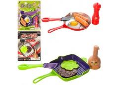 Посуда  на лист. сковорода, спец. продукти 2 вид. 2 кол. 21*28*3см  P3012-P2910 ...