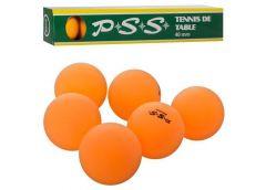 Тенісні шар 40мм. 6шт. в кор. 24*4*4см. MS 2202 (120)