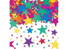 Конфеті зірки асорті 14гр 1501-0191