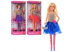 Лялька DEFA в кор, 30см. 3 вид. підставка, сумочка 13*33*6см. 8259 (24)