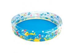 Басейн 3 кільця круглий Підводний світ в кор. 183*32см. Bestway BW 51005  (6)