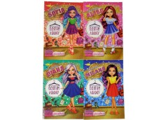 Книжка з наклейками Одягни ляльку 12стор мікс в асорт Апельсин АЦ-05-00 (24)