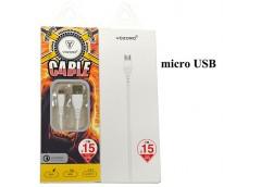 Кабель зарядний USB U-20