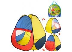 Палатка піраміда в сумці 92*92*105см 1 вхід на липучці, 2 вікна M 0016 (18)