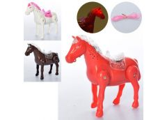 Кінь в кул. 18см. на бат.ходить, звук, світ, 3 кол. 19*15*6см. 3189-D (108)