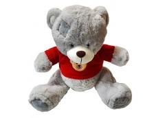 Ведмедик травка з бантом  50*30см