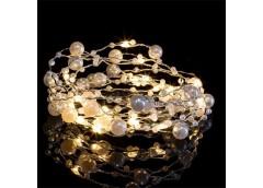 Герлянда 20 лам LED 2 м. з жемчугом Zabi-4 (300)