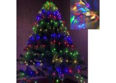 Герлянда 200 лам LED Лучі Роси, різнокольорова 2м RV-102 M (200)