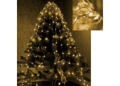 Герлянда 200 лам LED Лучі Роси, золотий колір 2м RV-102 З (200)