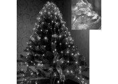 Герлянда 200 лам LED Лучі Роси, білий колір 2м RV-102 B (200)
