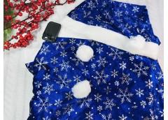Карнавальний костюм Снігурочки 22541 (1)