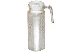 Кувшин скляний з пласт. кр. 1,0л. MS-2695 (20)