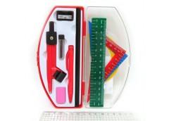 Готовальня в пласмасовому футлярі 10 предметів (144) 710