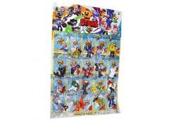 Фігурки на листку,  Brawl Stars 52 200804 (20/1200)