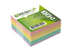 Папір д/нотат Fresh Up 85х85х400 арк не клеєний кольор.мікс FR-3211 (1/30)