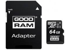 Карта пам'яті GOODRAM microSDXC 64GB Class 10 UHS I + adapter