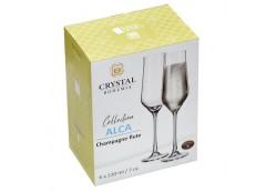 Набір бокалів для шампанського Alca 220мл. 6шт. 1SI12/00000/220
