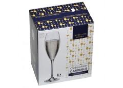 Набір бокалів для шампанського Carduelies220мл. 6шт. 1SF06/00000/290