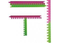 Лінійка ZIBI пласм. пазил 2 част. 20 см. в бліст. 5605 (1/50/400)