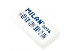 Ластик Milan прямокут, білий, 3,9*2,0*0,8см CNM4036  J.Otten (36)